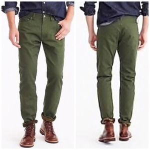 J.Crew 770 Straight Bedford Cord Cabin Pant 35/ 32